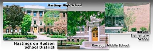 Distrito escolar de Hastings-on-Hudson Courtyard