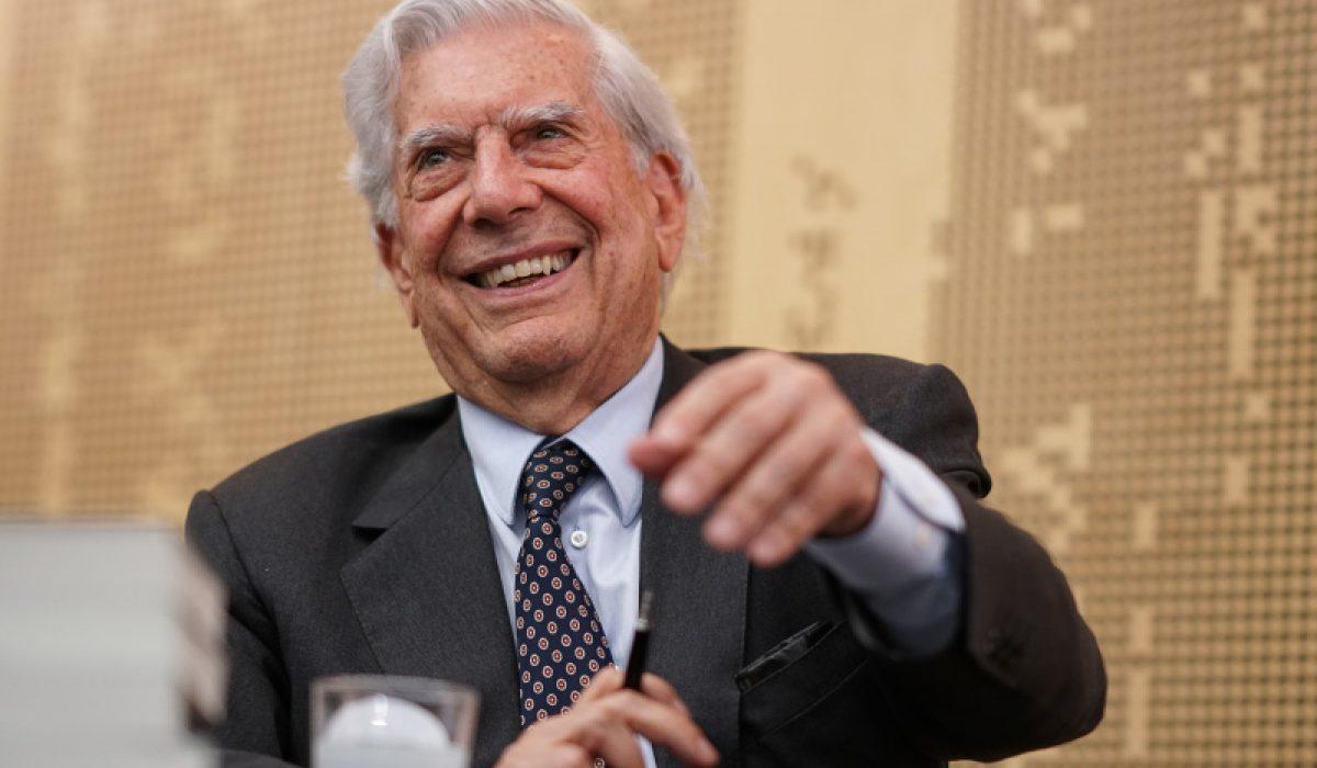 Mario Vargas Llosa en Festival en Aarhus (Dinamarca 2019)