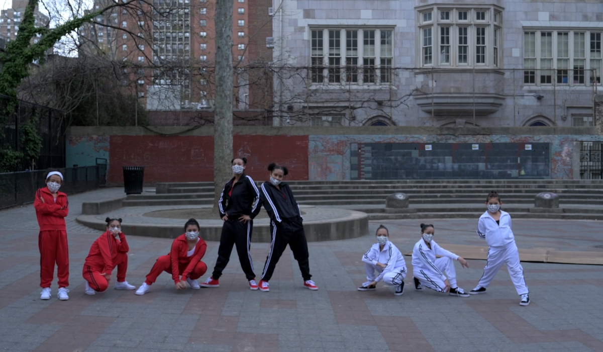 Ballet Hispánico School of Dance Students in Flavas of Hip-Hop | Screenshot from the 50th Celebration filmed by Nel Shelby Productions