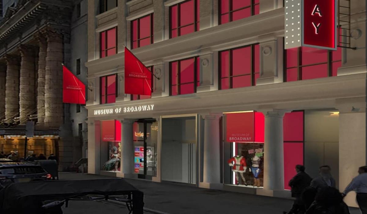 Museo de Broadway. Modelo de Paul Bennett Architects, PC