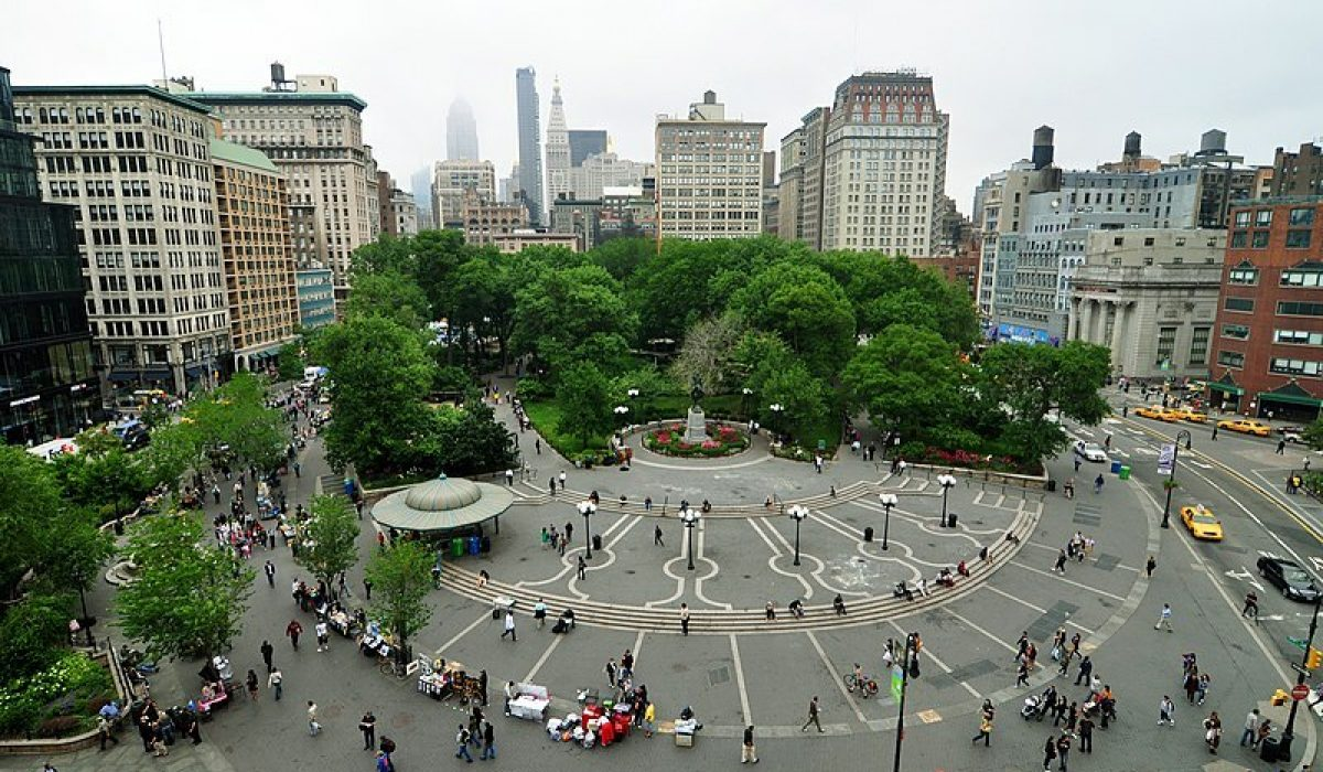 el parque Union Square