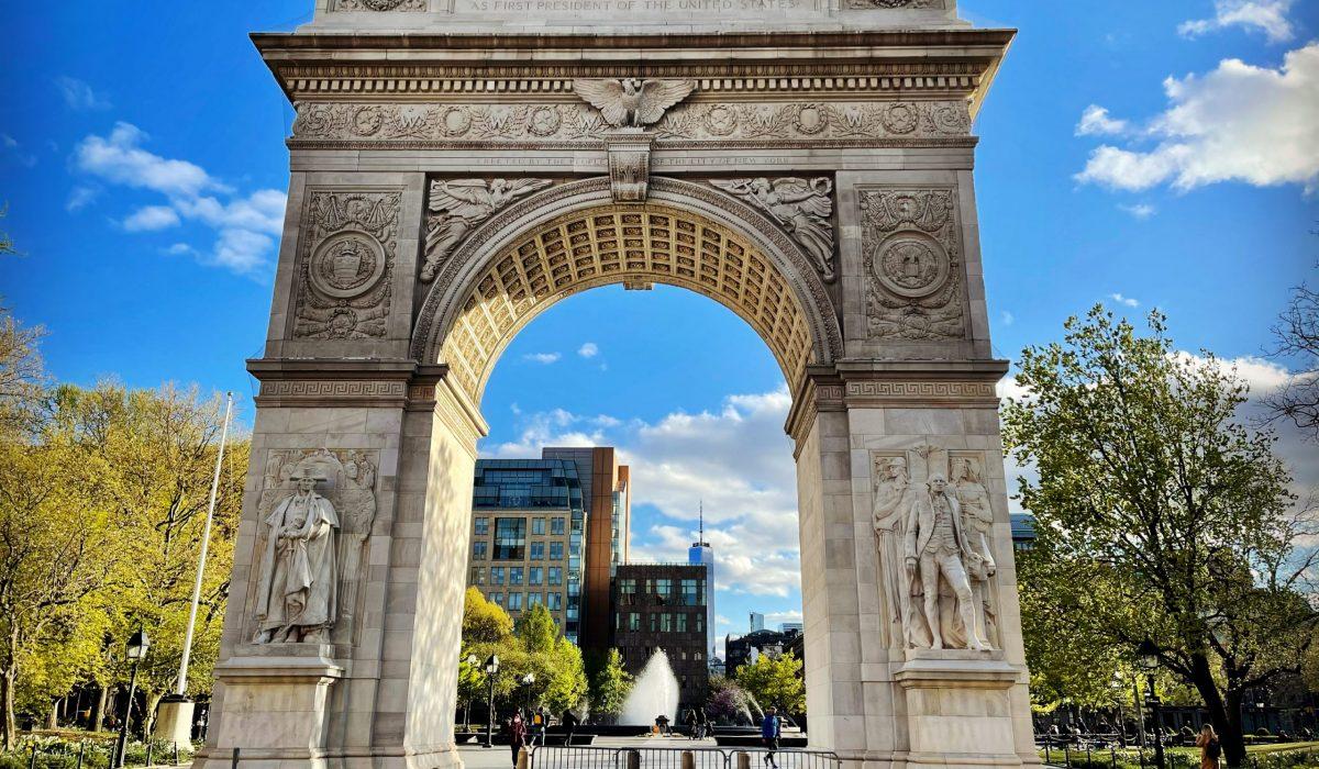 Washington Square, Nueva York. Fotografía por FFCP.