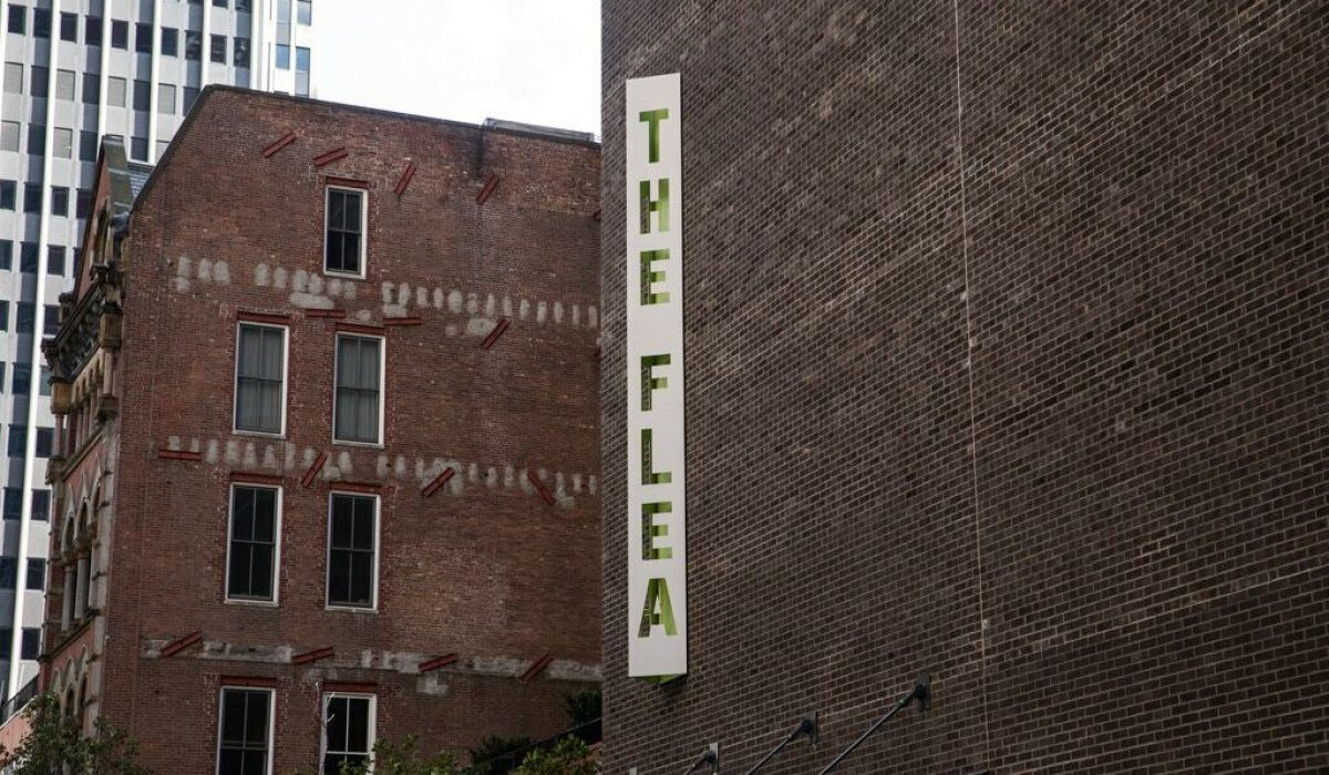 """The Flea announced a play that will start off its new season, """"Arden: A Ritual for Love and Liberation,"""" in 2022.Credit...Todd Heisler/The New York Times"""